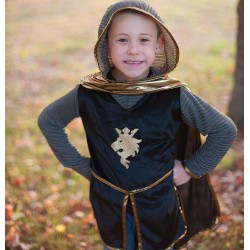 Gouden ridder kostuum (7-8 jaar)