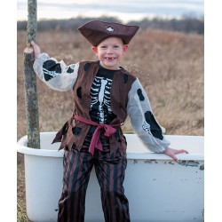 Costume de pirate squelette (4-6 ans)