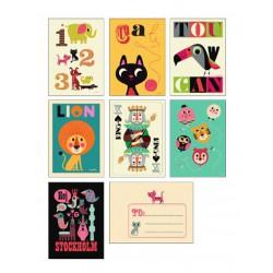 Cartes Postales Ingela P. Arrhenius