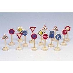 Signaux routiers 15 pcs