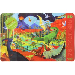 Crocodile Creek Placemat met dino's