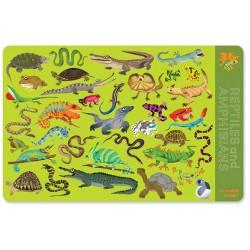 Set de table 36 Reptiles et Amphibiens
