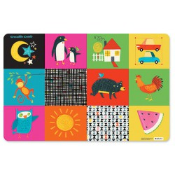 Placemat Kid's world - Crocodile Creek