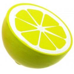 Halve houten citroen