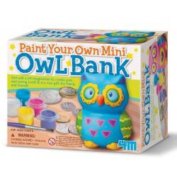 Zijn bank schilderen - Uil