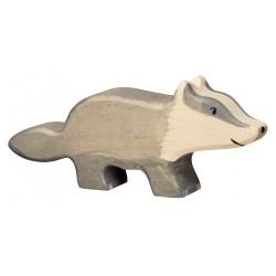 Figurine Blaireau Holztiger