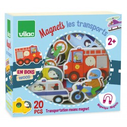 Aimants transport Vilac (20 pcs)