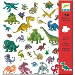 160 Stickers Dino's