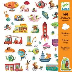 160 Stickers Onderweg