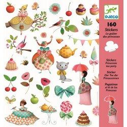 160 Stickers Princesse