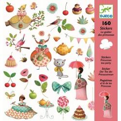 160 Stickers Prinses