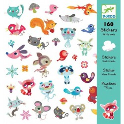 160 Stickers Vriendjes