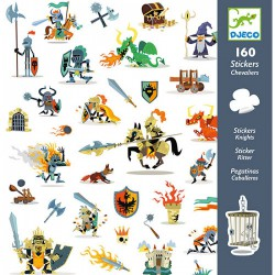 160 Stickers Ridders
