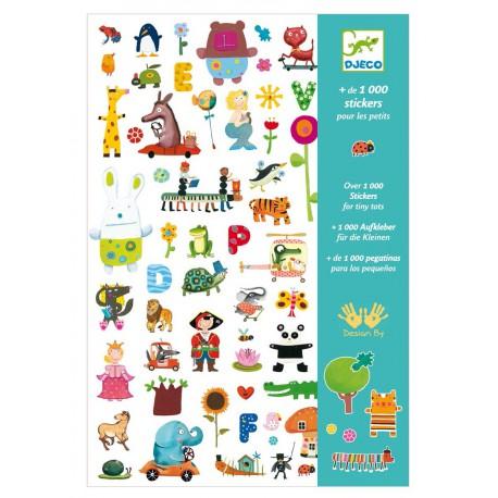 1000 Stickers voor de kleinste