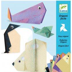 Origami Les animaux polaires Djeco