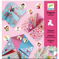 Origami Cocottes à gages Djeco