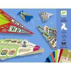 Origam vliegtuigen Djeco