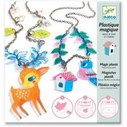 Magisch plastic - Hertje en vogel