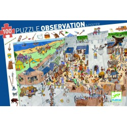 Puzzle Château fort (+ poster) 100 pcs