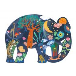 Puzz'Art Eléphant (150 pcs)