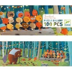 "Puzzle Gallery ""Forest Friends"" (100 pcs)"