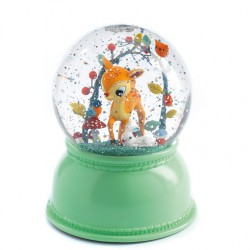 Nachtlampje sneeuwbol Reekalf