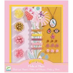 Bijoux à créer - Perles et fleurs Djeco