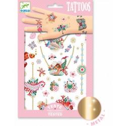 """Tatouages Djeco """"Les bijoux de Fiona"""""""