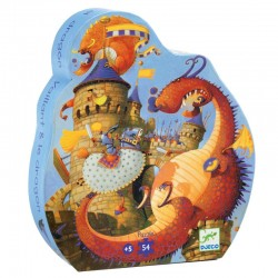 Puzzel Vaillant en de draak (54 st)