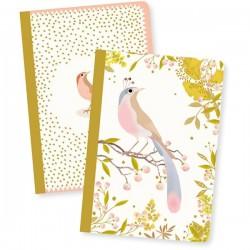 2 notitieboekjes Tinou - Djeco