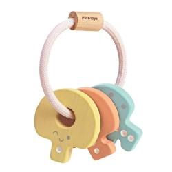 Hochet Clefs en bois - Plan Toys