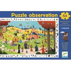 """Observatie puzzel """"sprookjes"""" (54 stuks)"""