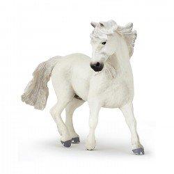 Figurine cheval blanc camargue