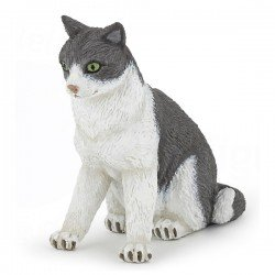 Figurine chatte assise PAPO
