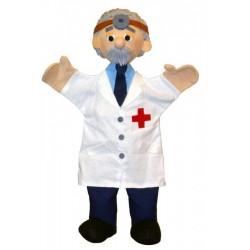 Marionnette Docteur Trullala (40 cm)