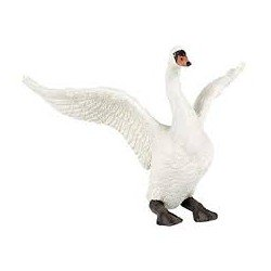 Witte zwaan figuur