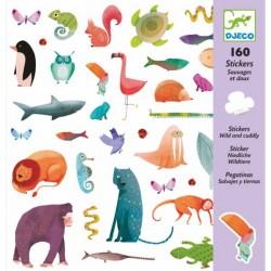 160 Stickers Sauvage et Doux