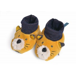 Chaussons chat lulu - les moustaches