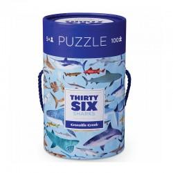 Puzzel 36 haaien (100 stuks)