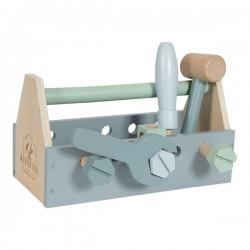 Boîte à outils en bois Little Dutch