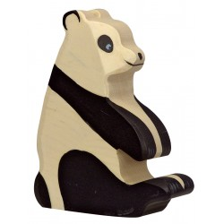 Houten Panda Figuur