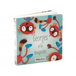 Livre réversible Georges à la bougeotte / Alice a les chocottes
