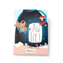 """Livre tactile """"Au lit"""" - Lilliputiens"""