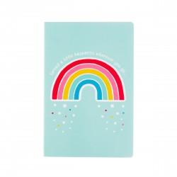 Regenboog A5 notitieboek