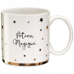 "Zwart en goud Mok ""Potion Magique"""