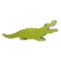 Houten Krokodil figuurtje