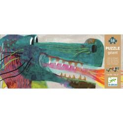 Grote puzzel Leon de draak (58 stuks)