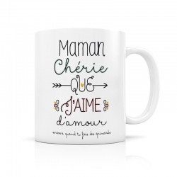 "Mug ""Maman chérie"" Label Tour"
