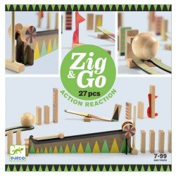 Zig & Go, jeu de construction (27 pcs)