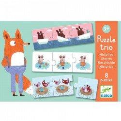 """Puzzle trio """"histoires"""" (8 puzzles)"""